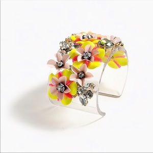J crew jeweled cuff